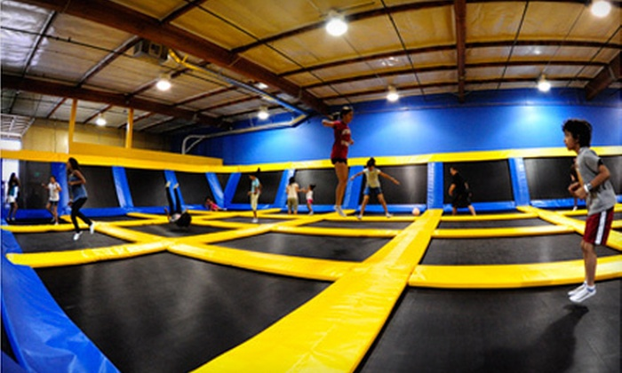 Great Jump Sports - Milpitas: $10 Worth of Bouncing and Food