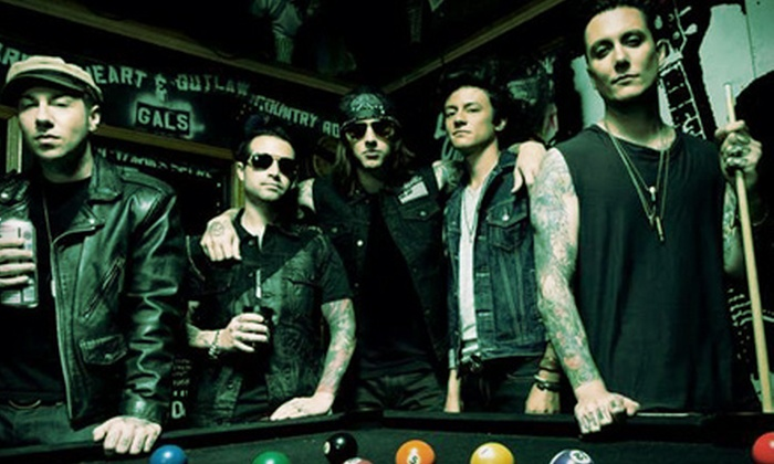 Avenged Sevenfold: Hail to the King Tour - Cynthia Woods Mitchell Pavilion: $20 to See Avenged Sevenfold: Hail to the King Tour at Woodlands Pavilion on Friday, October 18 (Up to $34.55 Value)