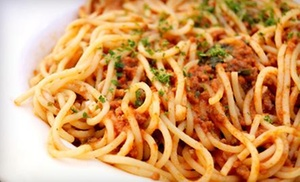 Pranzo Italiano: Pasta Entree for Two at Pranzo Italiano (40% Off)