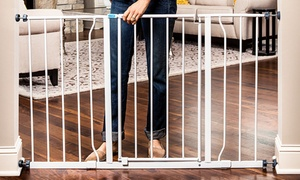 Regalo Easy-Open 50-Inch Extra-Wide Walk-Through Safety Baby Gate