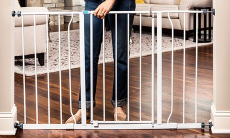 Regalo Easy-Open 50-Inch Extra-Wide Walk-Through Safety Baby Gate b8ad9488-e248-11e6-80cd-002590604002