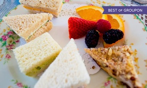 McKenna Tea Cottage: Lady Hamilton Afternoon Tea with Scones and Sandwiches for Two or Three at McKenna's Tea Cottage (50% Off)