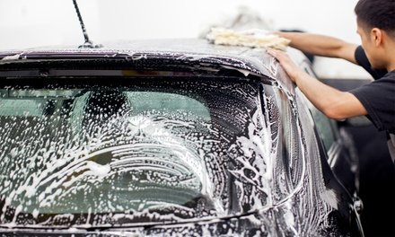 Three or Five Hand Car Washes with Tire Shines or Two Quick Details at Patriot Car Wash (Up to 50%Off)