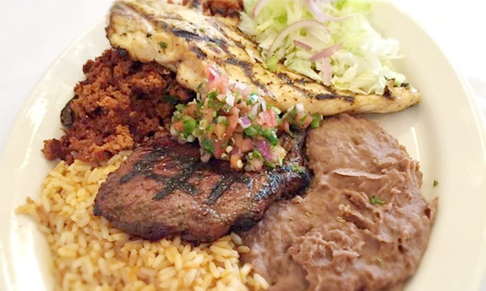 The Mexican Palace - College Park: Mexican and Steakhouse Cuisine at The Mexican Palace (Up to 49% Off). Four Options Available.