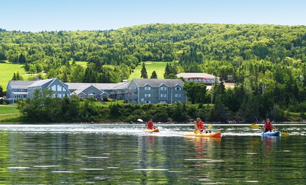 Groupon Deal: 1-Night Stay for Two at Dundee Resort & Golf Club in Cape Breton, Nova Scotia. Combine Up to 2 Nights.