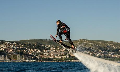 Vuelo en hoverboard para 1 o 2 personas desde 49,90 € en la Marina Real del Puerto