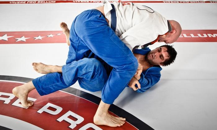 Delaware Jiujitsu - Chadds Ford: Five Jiujitsu Classes or One Month of Unlimited Jiujitsu Classes at Delaware Jiujitsu (Up to 58% Off)