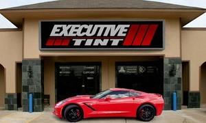 50% Off Auto Window Tinting at Executive Tint, plus 6.0% Cash Back from Ebates.