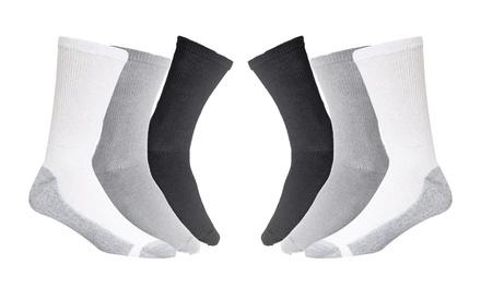 Unisex High Ankle Cushion Crew Socks Bubbles Dark Shadow Casual Sport Socks