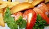 The Burger Joint - Multiple Locations: $14.75 for a Lobster-Roll Meal with Fries and a Soda at BGR The Burger Joint ($21.57 Value)