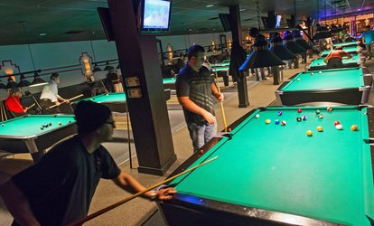 image for Billiards, Beer, and Appetizers at Pressure Billiards (Up to 57% Off). Four Options Available.