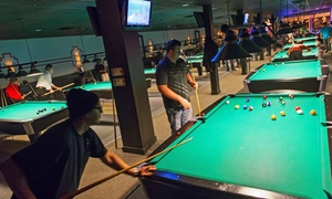 Pressure Billiards: Billiards, Beer, and Appetizers at Pressure Billiards (Up to 57% Off). Four Options Available.