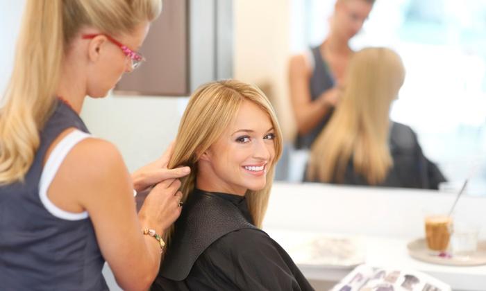 The Headquarters Hair Salon - Alvord: Haircut, Highlights, and Style from The Headquarters Hair Salon  (33% Off)