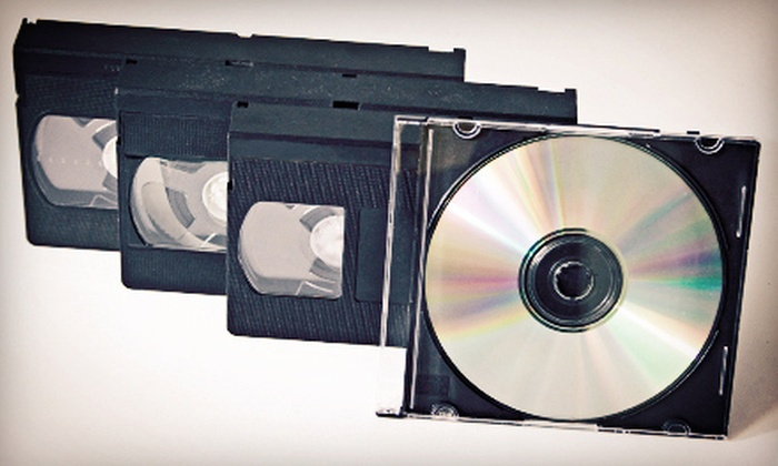 Main Street Photo-Video - Norman: Transfer of Two, Four, or Six Videotapes to DVD at Main Street Photo-Video (Up to 63% Off)