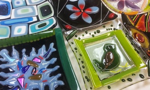 The Fused In Glass Club: Intro to Fusing Class for One, Two, or Four at The Fused In Glass Club (Up to 52% Off)