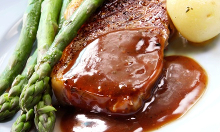 Upscale Grill Food and Drinks for Two or Four at Mynt Novi (Up to 43% Off)