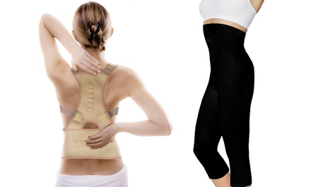 Jocca Magnetic Posture Support and Slimming Pants Set