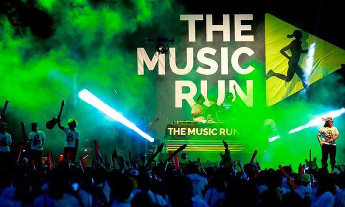 The Music Run  - The Music Run : The Music Run 5K for One or Two on Saturday, June 11, at 4:30 p.m. (Up to 53% Off)