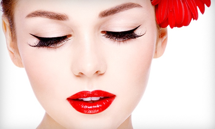 Simplicity Salon & Spa - Waxahachie: Permanent Makeup for Top or Bottom Eyelids or for Eyebrows at Simplicity Salon & Spa (Up to 72% Off)