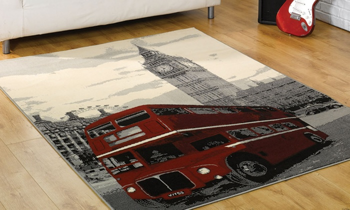 Funky Rugs Six Designs Groupon Goods