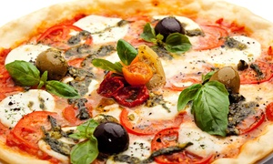 Slice Downtown: Pizza, Italian Food, and Drinks at Slice Downtown (40% Off). Two Options Available.