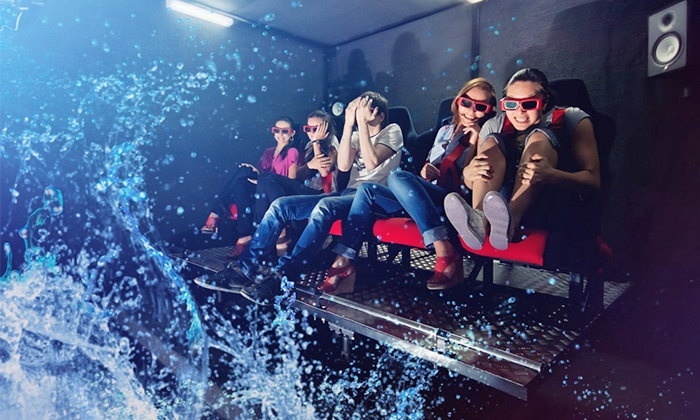 7D Turbo Ride at Connecticut Post Mall - Connecticut Post Mall: Admission for Two or Four to 7D Turbo Ride (Up to 40% Off)