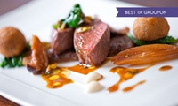Seven-Course Tasting Menu For One, Two or Four from £31 at Michelin-Starred L'Autre Pied (Up to 52% Off)
