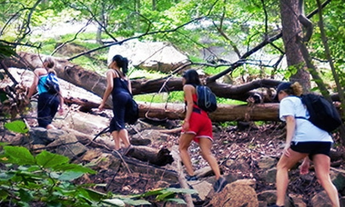 Move Adventures - Upper East Side: One, Three, or Five Adventure Fitness Hikes with Transportation from Move Adventures (Up to 78% Off)