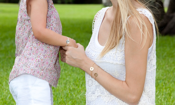 Petits Trésors: Personalized Jewelry from Petit Trésors (Up to 58% Off). Three Options Available.