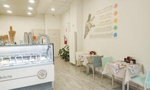 Crema e Cioccolato Torino: Fino a 2 kg di gelato take away o a domicilio, colazioni e merende complete da Crema e Cioccolato (sconto fino a 72%)