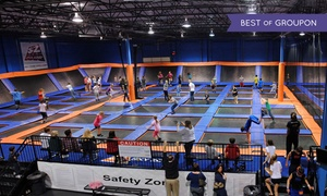 Sky Zone - Harrisburg: Two 60-Minute Jump Passes With Sky Socks to Sky Zone Harrisburg (Up to 47% Off)