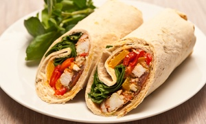 Oh My Pita: Mediterranean Food at Oh My Pita (Up to 40% Off)