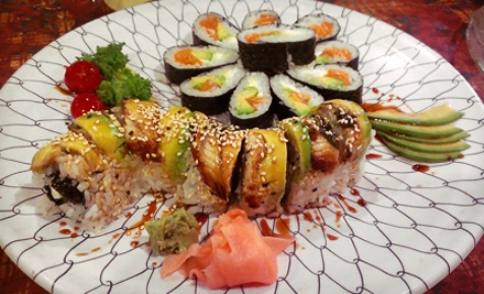 $15 for $30 Worth of Sushi and Asian Food at Weston Sushi & Grill