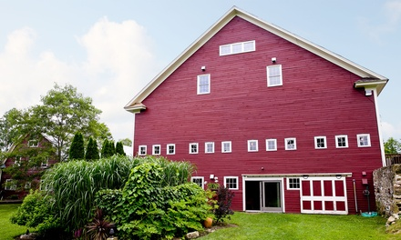 1-Night Stay for Two with Daily Breakfast at Gedney Farm in New Marlborough, MA. Combine Up to 2 Nights.