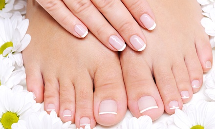 One or Two Classic Manicures and Pedicures at Evolve Salon (Up to 60% Off)
