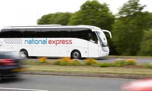 National Express: 40% Off UK Fares with National Express