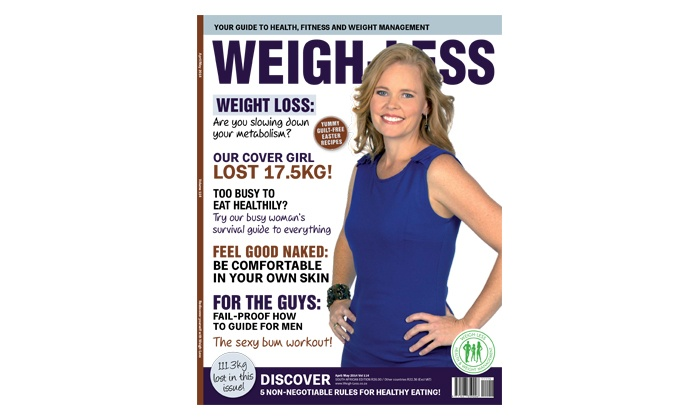 Weigh-Less SA: Six or Twelve Issue of Weigh-Less Magazine from R90 Including Delivery (50% Off)