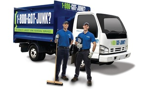 1-800-GOT-JUNK?: $99 for $200 Toward Junk Removal from 1-800-GOT-JUNK?