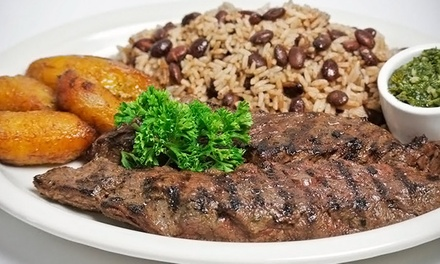Latin Cuisine at La Fogata BBQ and La Fogata Charcoals Kendall (40% Off). Two Options Available.