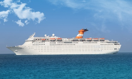 Bahamas Cruise for Two Departing from West Palm Beach, FL.