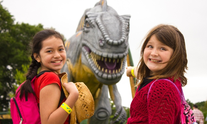 Dinosaur World - Cave City: One Adult or Child Ticket or Family Pack of Four Tickets to Dinosaur World (Up to 51% Off)