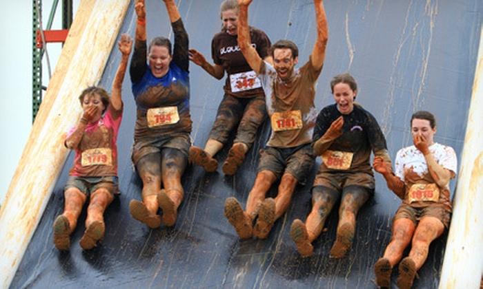 Rugged Maniac 5K Obstacle Race - Marshall: $24 for Entry to Rugged Maniac 5K Obstacle Race on Saturday, October 26 at Snow Creek Ski Area (Up to $53 Value)