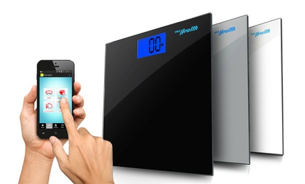 Pyle Smart Body Scale, Bluetooth Tracking for iPhone iPad and Android Devices