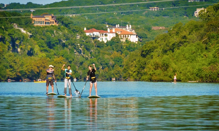 Steiner Ranch SUP - Sleepy Hollow: Stand-Up Paddleboard Rental from Steiner Ranch SUP (Up to 55% Off)
