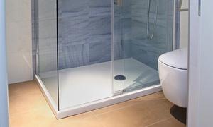 Inmocyl: Cambio de bañera por plato de ducha por 395 €. Válido para toda la provincia de Valladolid