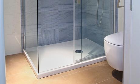 Cambio de bañera por plato de ducha por 395 €. Válido para toda la provincia de Valladolid