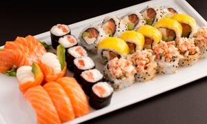 Jiro Sushi: Tabla de 32 o 64 piezas de sushi en Jiro Sushi, 3 sucursales