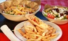 Hellas Restaurant and Bar - South View: Greek Cuisine for Lunch or Dinner at Hellas Restaurant & Sports Bar (Up to 55% Off). Three Options Available.