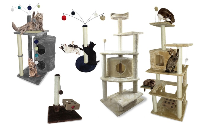 Good Tiger Tough Cat Tree House Furniture: Tiger Tough Cat Tree House Furniture  ...