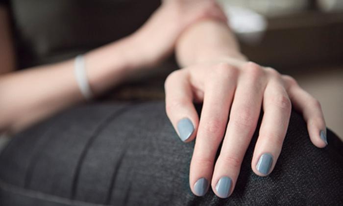Luxor Nail Spa & Hair - Bradenton: Mani-Pedi or One Set of Acrylic Nails at Luxor Nail Spa & Hair (51% Off)